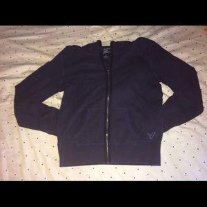 American Eagle Navy Blue Comfy Sweatshirt Hoodie